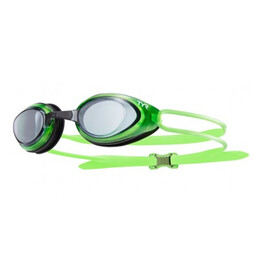 TYR Black Hawk Racing Goggles Heren, smoke/fluo green/blue